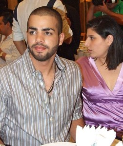 picture of star academy season 7 student Mohamad Ramadan from Jordan at the final prime dinner party 2