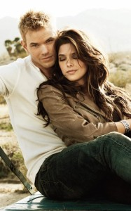 Kellan Lutz and Ashley Greene photo shoot for the new issue July 2010 issue of Womens Health magazine 2
