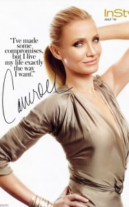 Cameron Diaz photo shoot for the July 2010 issue of InStyle magazine 3