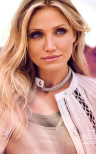 Cameron Diaz photo shoot for the July 2010 issue of InStyle magazine 1