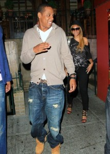 Jay Z and Beyonce Knowles seen together on June 14th 2010 as they went out for dinner at Pepolino Ristorante in New York City 3