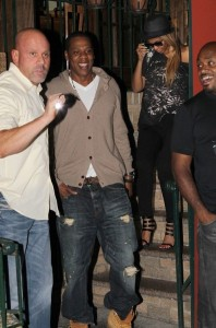 Jay Z and Beyonce Knowles seen together on June 14th 2010 as they went out for dinner at Pepolino Ristorante in New York City 1