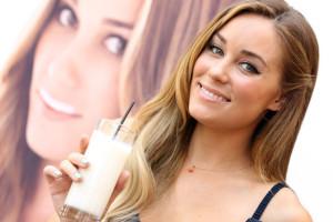 Lauren Conrad reveals her got milk ad at The Grove on June 15th 2010 in Los Angeles California 1
