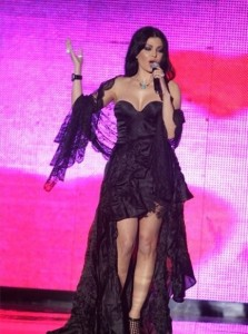 Haifa Wehbe new picture during the maurex dor awards ceremony held in June 2010 in Beirut Lebanon 2