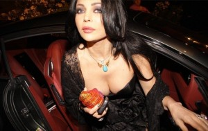 Haifa Wehbe new picture during the maurex dor awards ceremony held in June 2010 in Beirut Lebanon 1
