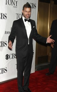 Ricky Martin attends the 64th Annual Tony Awards at The Sports ClubLA on June 13th 2010 in New York 2