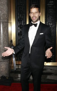 Ricky Martin attends the 64th Annual Tony Awards at The Sports ClubLA on June 13th 2010 in New York 3