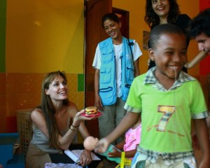 Angelina Jolie pictures from her visit to less fortunate people on June 18th 2010 in northern Ecuador 1 1