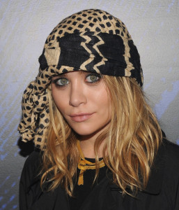 Ashley Olsen attends the YSL Belle DOpium fragrance launch at The YSL Stage on June 17th 2010 in New York 1