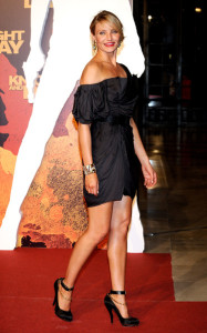 Cameron Diaz attends the Knight and Day premiere at the Lope de Vega Theater on June 15th 2010 in Seville Spain 3