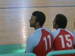 picture of Mohamad Ali From Egypt during a basketball competition
