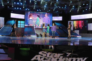 picture of the fifth Prime of star academy seven on March 26th 2010 with Hilda Khalife 1