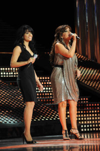 picture of the fifth Prime of star academy seven on March 26th 2010 with Tunisian singer Latifa 4