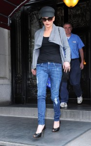 Catherine Zeta Jones was spotted on June 16th 2010 as she runs errands in New York City 1