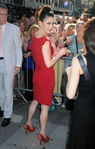 Catherine Zeta Jones seen on June 20th 2010 after her last performance in A Little Night Music at the Walter Kerr Theatre in New York City 3