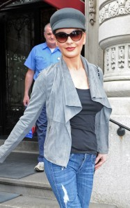 Catherine Zeta Jones was spotted on June 16th 2010 as she runs errands in New York City 3