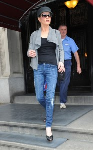 Catherine Zeta Jones was spotted on June 16th 2010 as she runs errands in New York City 2