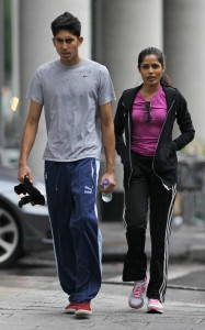 Freida Pinto and Dev Patel were spotted on June 16th 2010 walking together in downtown Montreal 3