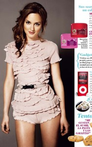 Leighton Meester in the July 2010 issue of Cosmopolitan Spain 1