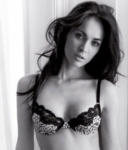 Megan Fox  lingerie photo shoot for a new June 2010 Armani ad 2
