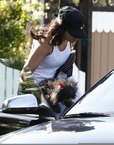 Vanessa Hudgens seen leaving a dog park on May 20th 2010 in Los Angeles 2