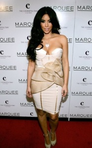 Kim Kardashian photo on February 14th 2011 as she hosts Valentines Day at Marquee Nightclub 6