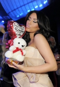 Kim Kardashian photo on February 14th 2011 as she hosts Valentines Day at Marquee Nightclub 1