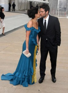 Josh Radnor arrives with Lindsay Price at the American Ballet Theatres 69th annual Spring Gala helf on May 18th 2009 at the Metropolitan Opera House in NY 5