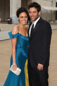 Josh Radnor arrives with Lindsay Price at the American Ballet Theatres 69th annual Spring Gala helf on May 18th 2009 at the Metropolitan Opera House in NY 2