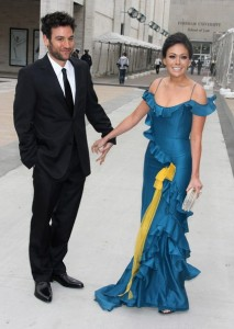 Josh Radnor arrives with Lindsay Price at the American Ballet Theatres 69th annual Spring Gala helf on May 18th 2009 at the Metropolitan Opera House in NY 4
