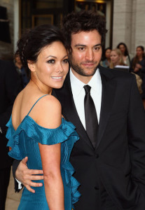 Josh Radnor arrives with Lindsay Price at the American Ballet Theatres 69th annual Spring Gala helf on May 18th 2009 at the Metropolitan Opera House in NY 1