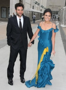 Josh Radnor arrives with Lindsay Price at the American Ballet Theatres 69th annual Spring Gala helf on May 18th 2009 at the Metropolitan Opera House in NY 3