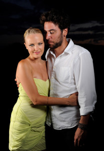 Josh Radnor photo shoot with Malin Akerman at the screening of Happythankyourmoreplease during the 2010 Maui Film Festival  on June 19th 2010 at the Celestial Cinema in Hawaii 2