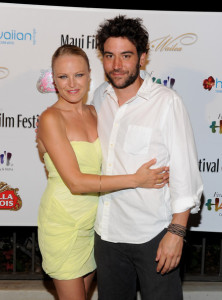 Josh Radnor arrives with Malin Akerman at the screening of Happythankyourmoreplease during the 2010 Maui Film Festival  on June 19th 2010 at the Celestial Cinema in Hawaii 3