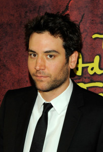 Josh Radnor at the Broadway opening of The Addams Family at the Lunt Fontanne Theatre on April 8th 2010 in New York City