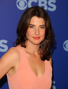 Cobie Smulders attends the 2010 CBS UpFront at Damrosch Park Lincoln Center on May 19th 2010 in New York City 2