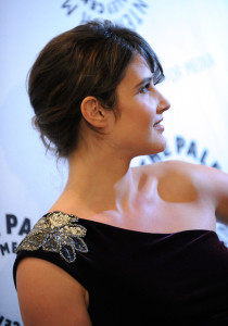 Cobie Smulders arrives at the Paley Center For Media Celebrates How I Met Your Mother 100th Episode on January 7th 2010 in Beverly Hills 3