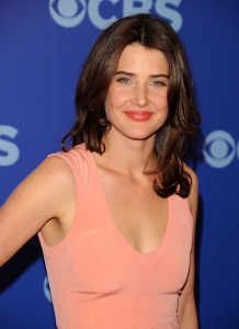 Cobie Smulders attends the 2010 CBS UpFront at Damrosch Park Lincoln Center on May 19th 2010 in New York City 3
