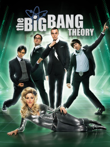poster photo of the comdey series The Big Bang Theory 4