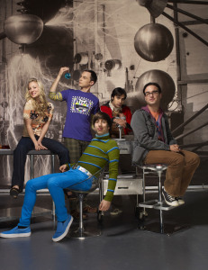 poster photo of the comdey series The Big Bang Theory 3