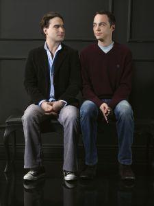 Sheldon Cooper and Leonard Hofstadter