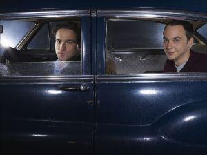 Sheldon Cooper and Lenard Hofstadter