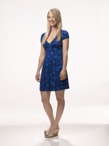 poster photo quality of acrtess Kaley Cuoco who plays Penny in The Big Bang Theory comedy series 2