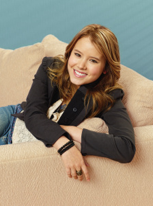The comedy series Melissa and Joey Poster photo of Taylor Spreitler who stars as Lennox 1