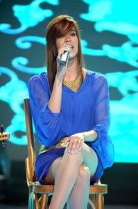 the first prime of star academy season 8 photo of Karima Ghaith from Morocco