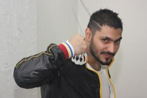 first prime backstage picture on April 4th 2011 of star academy graduate Nasser Abo Lafi from Jordan 2