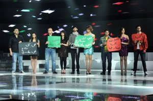 the 2nd prime of star academy season8 on April 8th 2011 picture of the students on stage