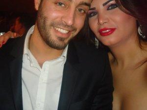 Asmaa Mahalaoui with Saad Ramadan