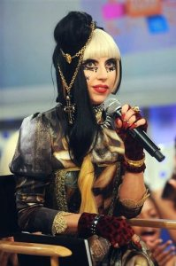 Lady Gaga at a live interview on May 24th 2011 at BET Studios in New York lady gaga 052411 4