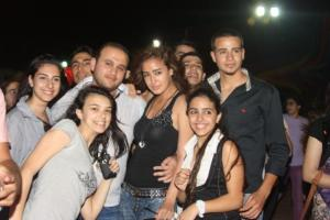 photo from the backstage of the 9th prime of star academy on May 27th 2011 of Nina Abdul Malak 7